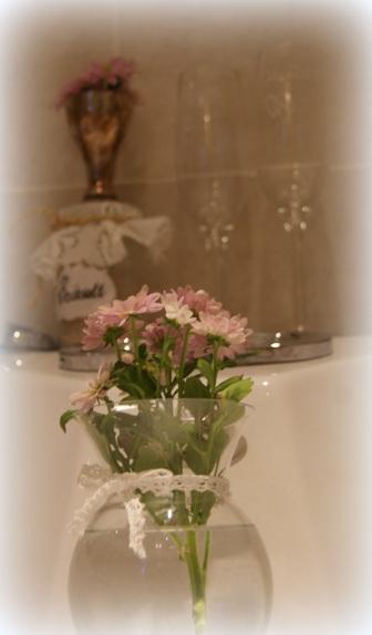 På boblebadet på badet
